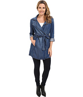NYDJ - Drapy Trench Coat Denim