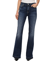 7 For All Mankind - High Waist Vintage Bootcut w/ Released Hem in La Palma Blue
