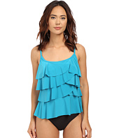 Miraclesuit - Pin Point Tiering Up Tankini Top