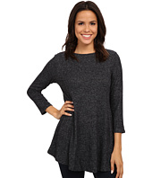 B Collection by Bobeau - Brushed Babydoll Hemline Knit