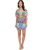 Hale Bob - Salsa on the Beach Cold Shoulder Dress