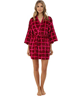 Josie - Plaid Plush Robe