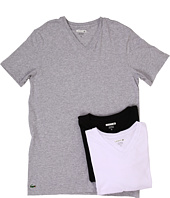 Lacoste - Essentials 3-Pack V-Neck Tee
