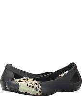 Crocs - Sienna Leopard Fade Flat