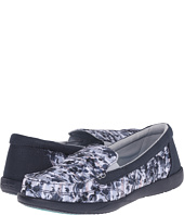 Crocs - Walu II Striped Floral Loafer