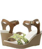 Crocs - Leigh II Ankle Strap Graphic Wedge