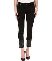 Jag Jeans - Evan Long Glitter Cuff Capital Denim in Black