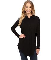Mod-o-doc - Sueded Slub Jersey Drop Shoulder Button Front Shirt
