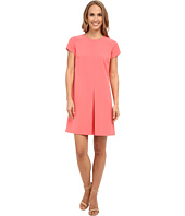 Vince Camuto - Short Sleeve Dress w/ Invert Front Pleat