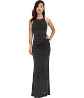 Calvin Klein - Halter Neck Ruched Gown