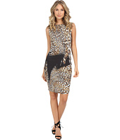 Nicole Miller - Lauren Time Warp Leopard Dress