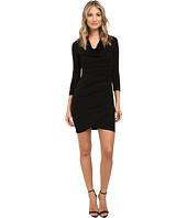 Nicole Miller - Fin Black Jersey Dress