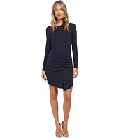 Nicole Miller - Parisian Side Tuck Crepe Dress