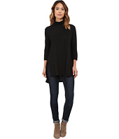Michael Stars - Supima Slub Jersey 3/4 Sleeve Mock Neck Tunic