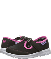 SKECHERS KIDS - Go Walk - Bitty Bow (Toddler/Little Kid)