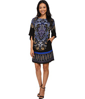 Adrianna Papell - Giant Paisley Placed Printed Dress