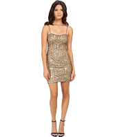 Aidan Mattox - Sequin Bead Slip Dress
