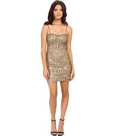 Aidan Mattox - Sequin Bead Slip Dress