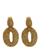 Oscar de la Renta - Classic Oscar O C Earrings
