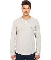 Original Penguin - Long Sleeve Slub Henley