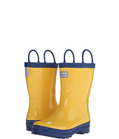 Hatley Kids - Yellow & Navy Rainboots (Toddler/Little Kid)