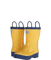 Hatley Kids - Yellow & Navy Rainboots (Toddler/Little Kid)