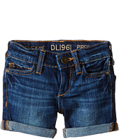 DL1961 Kids - Piper Unstitched Cuffed Jean Shorts (Toddler/Little Kids)