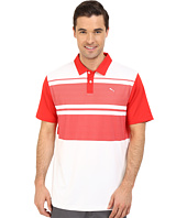 PUMA Golf - Short Sleeve Patternblock Polo