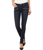 Paige - Indio Zip Ultra Skinny Jeans in Elia No Whiskers