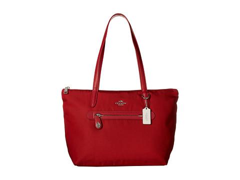 COACH Zip Tote in Nylon Handbag