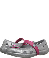 Crocs Kids - Keeley Glitter Springtime Flat PS (Toddler/Little Kid)