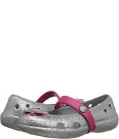 Crocs Kids - Keeley Glitter Springtime Flat PS (Toddler/Little Kid)