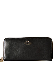 COACH - Smooth Slim Accordian Zip
