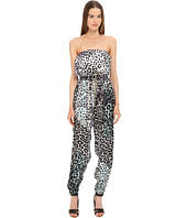 Just Cavalli - Leo Print Silk Jumpsuit