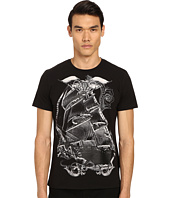 Just Cavalli - Pirate Ship Graphic Short Sleeve Tee