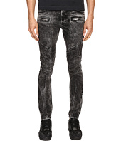 Just Cavalli - Stripped Effect Moto Jeans
