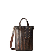 Scully - Leather Patriotic Rockin Tote