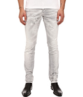 DSQUARED2 - Slim Stretch Dark Techno Japan Denim in Grey