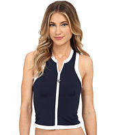 Seafolly - Block Party Sleeveless Rash Vest Cover-Up