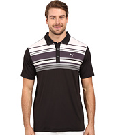 PUMA Golf - Short Sleeve Key Stripe Polo