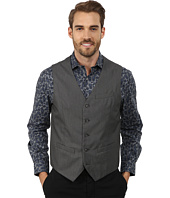 Perry Ellis - Micro Twill Heather Five-Button Vest