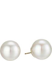 Majorica - 14mm Round Pearl Stud Earrings