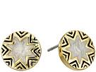 Mini Sunburst Stud Earrings