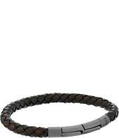 Fossil - Braided Leather Cord Bracelet