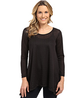 Nally & Millie - Long Sleeve Lace Tunic with Layer