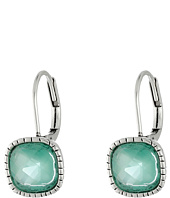 The Sak - Cushion Stone Leverback Earrings