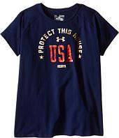 Under Armour Kids - USA Short Sleeve Tee (Big Kids)
