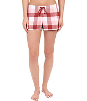 Life is Good - Earthy Red Buffalo Plaid Sleep Boxer