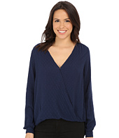 Velvet by Graham & Spencer - Emestina03 Damask Rayon Blouse