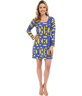 Nally & Millie - Geo Scoop Neck Dress